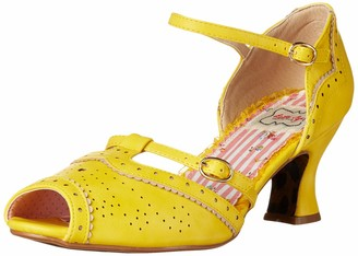 Bettie Page Women's Pinup Retro Vintage Heeled Sandal