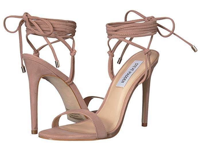 5f0472b113 Steve Madden Pink Stiletto Heel Women's Sandals - ShopStyle