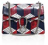 Gucci Dionysus Medium Cube-Print Python Shoulder Bag