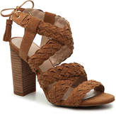 BCBGeneration Women's Ledina Sandal -Cognac Suede