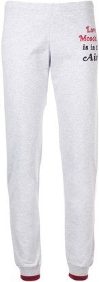 Love Moschino Love is in the Air track pants
