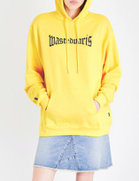 Wasted Paris Yellow London cotton-jersey hoody