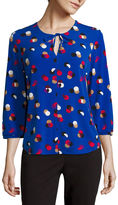 Liz Claiborne 3/4-Sleeve Knit Top