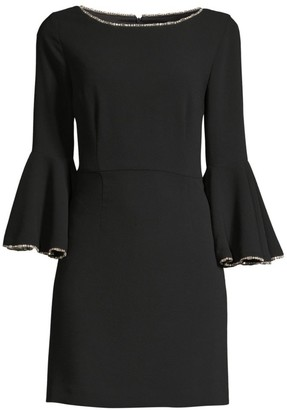 Trina Turk Bromley Bell-Sleeve Dress
