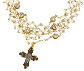 Virgins Saints And Angels Virgins, Saints & Angels Magdalena Necklace in Gold | Pearl | Clear