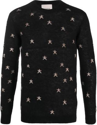 Laneus Star Pattern Jumper