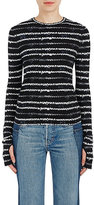 Helmut Lang Women's Abstract-Striped Long-Sleeve T-Shirt