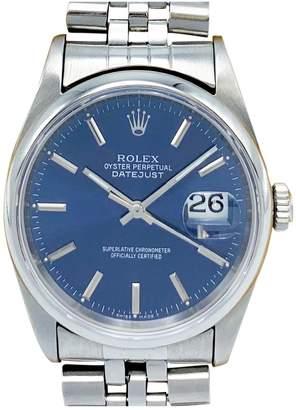 Rolex Datejust 36mm Blue Steel Watches