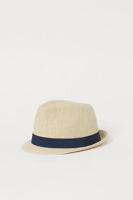 H&M Straw Hat - Blue