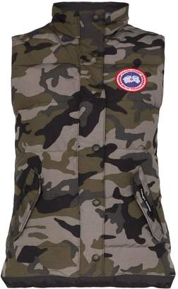 Canada Goose Freestyle camouflage print padded vest