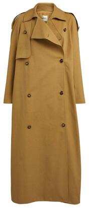 KHAITE Gwyn Trench Coat