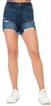 Thumbnail for your product : Rewash Juniors' Retro Wedge Denim Shorts