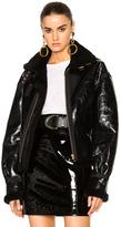 Alexandre Vauthier Patent Leather Skirt