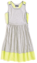 Tommy Hilfiger Final Sale- Contrast Trim Sleeveless Dress