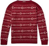 Lanvin - Wool-jacquard Sweater