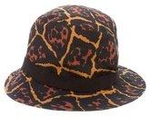 Saint Laurent Leopard Bucket Hat