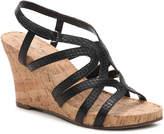 Aerosoles Women's Lux Plush Wedge Sandal