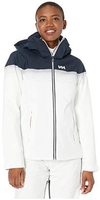 Helly Hansen Motionsista Lifaloft Jacket (White) Women's Coat