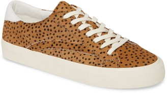 Madewell Sidewalk Spot Dot Genuine Calf Hair Low Top Sneaker