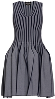 Emporio Armani Pleated Stretch Knit Dress