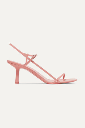 The Row Bare Leather Sandals - Blush