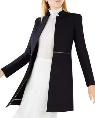 BCBGMAXAZRIA Arelia Zip Waist A-Line Essential Jacket