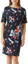 Fenn Wright Manson Petite Agatha Dress, Navy/Multi