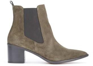 Mint Velvet Jenni Khaki Ankle Boots