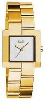 Dolce & Gabbana Women's PROMENADE DW0398 Gold Gold Tone Analog Quartz Watch with Dial