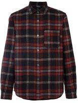 A.P.C. plaid button down shirt