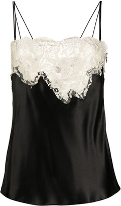 Dolce & Gabbana Contrast Lace Camisole