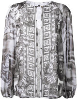 Versace baroque print loose blouse - women - Polyester - 42