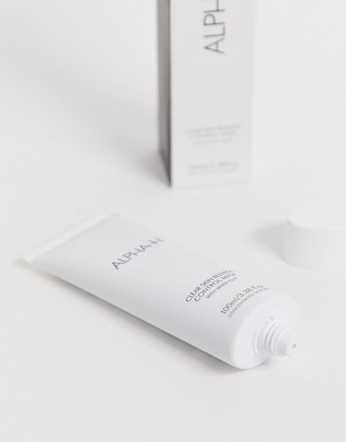 Thumbnail for your product : Alpha-h Clear Skin Blemish Control Mask with White Clay and Aloe Vera 100ml-No colour