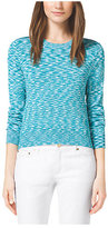 Michael Kors Cropped Space-Dyed Top