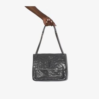 Saint Laurent grey Niki large leather shoulder bag