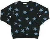 Stella McCartney Stars Print Organic Cotton Sweatshirt