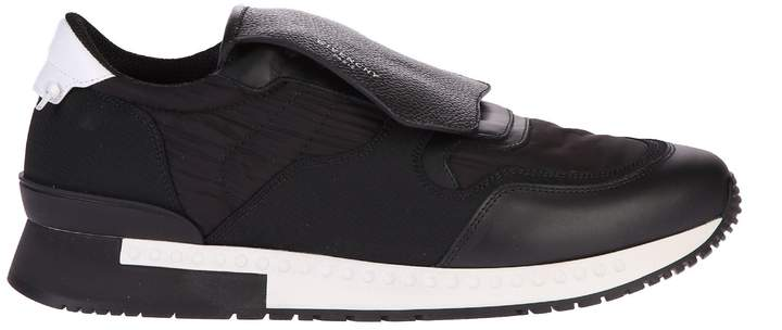 Givenchy Black Active Runner Sneakers