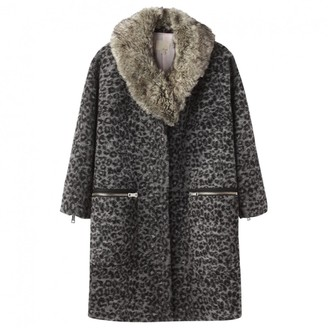 Band Of Outsiders Grey Wool Coat for Women