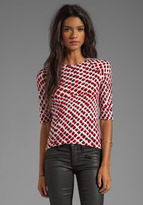 10 CROSBY DEREK LAM Short Sleeve T-Shirt