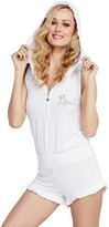 Betsey Johnson Kiss The Bride French Terry Romper