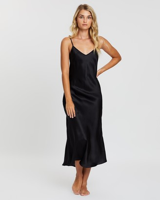 Papinelle Silk Bias Cut Slip Nightie