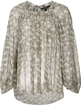 Derek Lam patterned blouse - women - Silk - 38