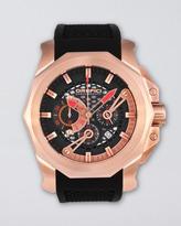 Orefici Watches Gladiatore Chronograph Watch, Black