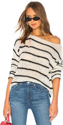superdown Eden Striped Sweater