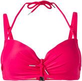 Marlies Dekkers Musubi plunge bikini top D-size + - women - Nylon/Polyester/Spandex/Elastane - 70D
