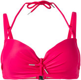 Marlies Dekkers Musubi plunge bikini top D-size + - women - Nylon/Spandex/Elastane/Polyester - 70D