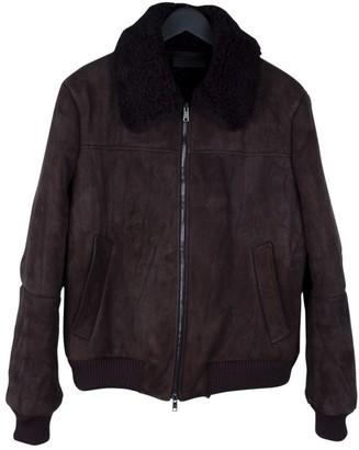 Prada Brown Shearling Jackets