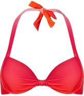 Amir Slama - halterneck bikini top - women - Polyamide/Spandex/Elastane - M