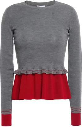 RED Valentino Layered Wool Sweater