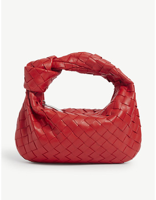 Bottega Veneta Mini Jodie intrecciato leather hobo bag